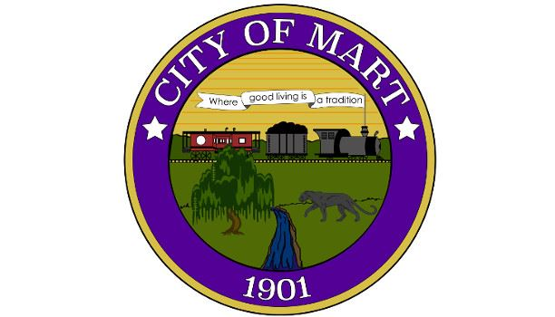 City of Mart Seal